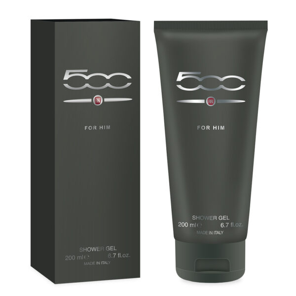 Shower Gel Fiat 500 for Him