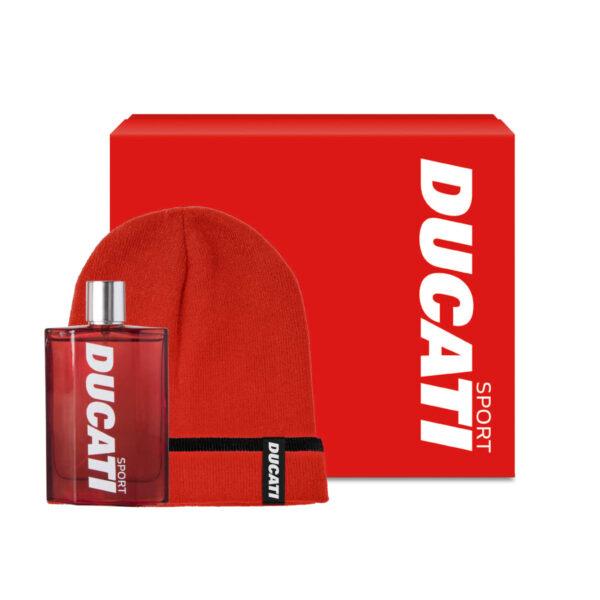 Set Ducati Sport eau de toilette e berretto ufficiale Ducati