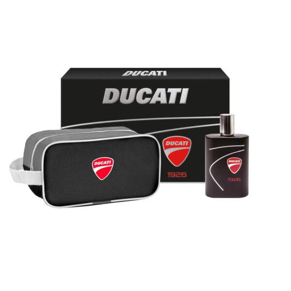 confezione regalo Ducati Eau De Toilette con Beauty Case Ducati 1926