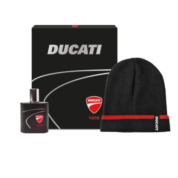 confezione regalo Ducati Eau De Toilette con Berretto Ducati 1926