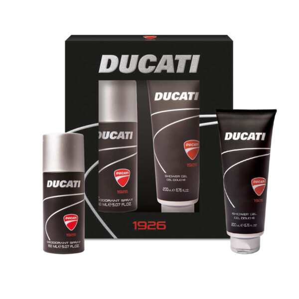confezione regalo Ducati Deodorante Spray con Shower Gel Ducati 1926