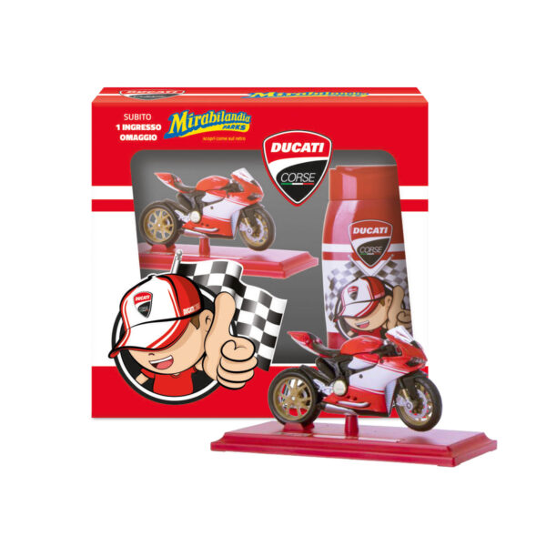 Shampoo e Shower Ducati Kids con Original Replica Model Ducati Superleggera