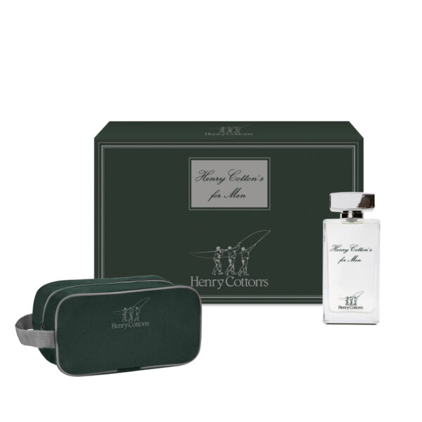 Gift set Henry Cotton's: Eau de Toilette con Beauty case
