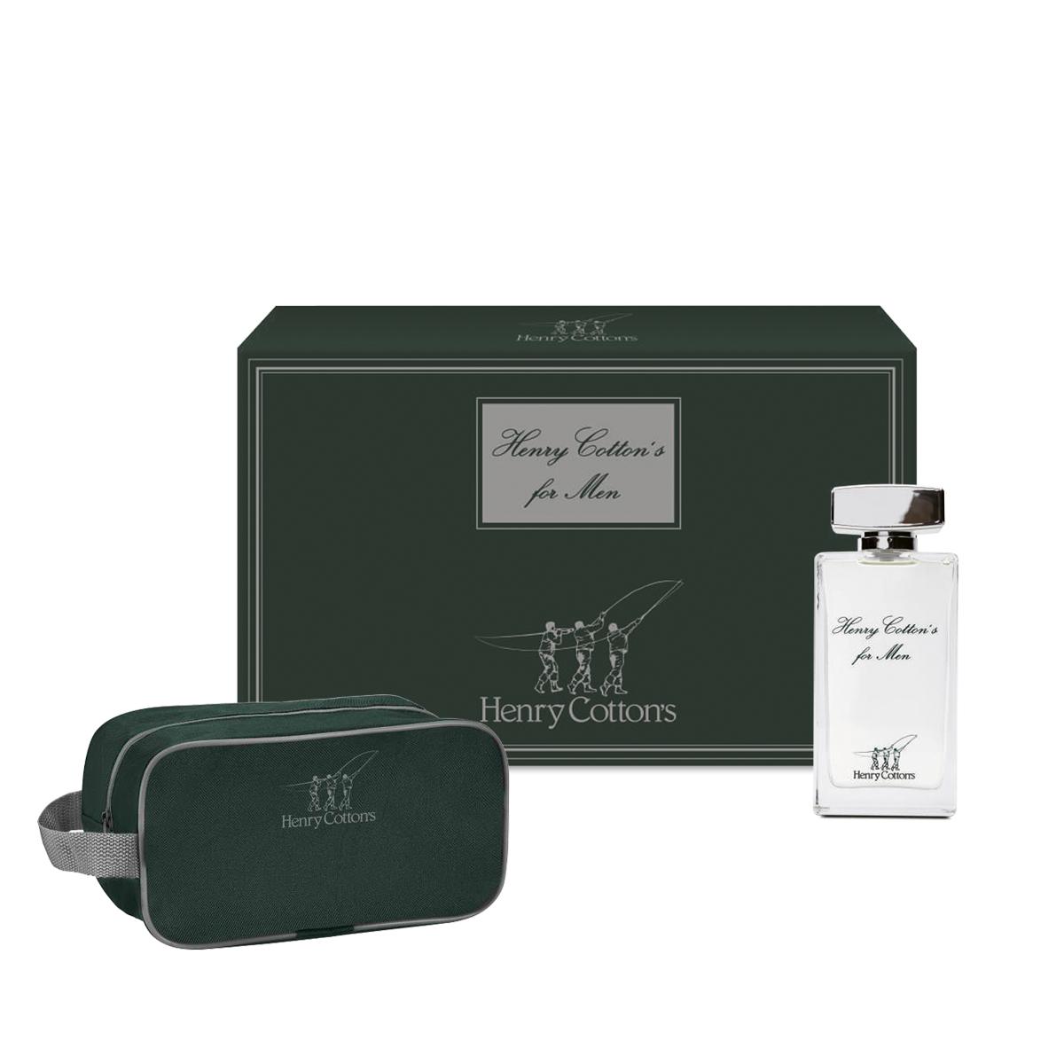 Gift set Henry Cotton's: Eau de Toilette con Beauty case