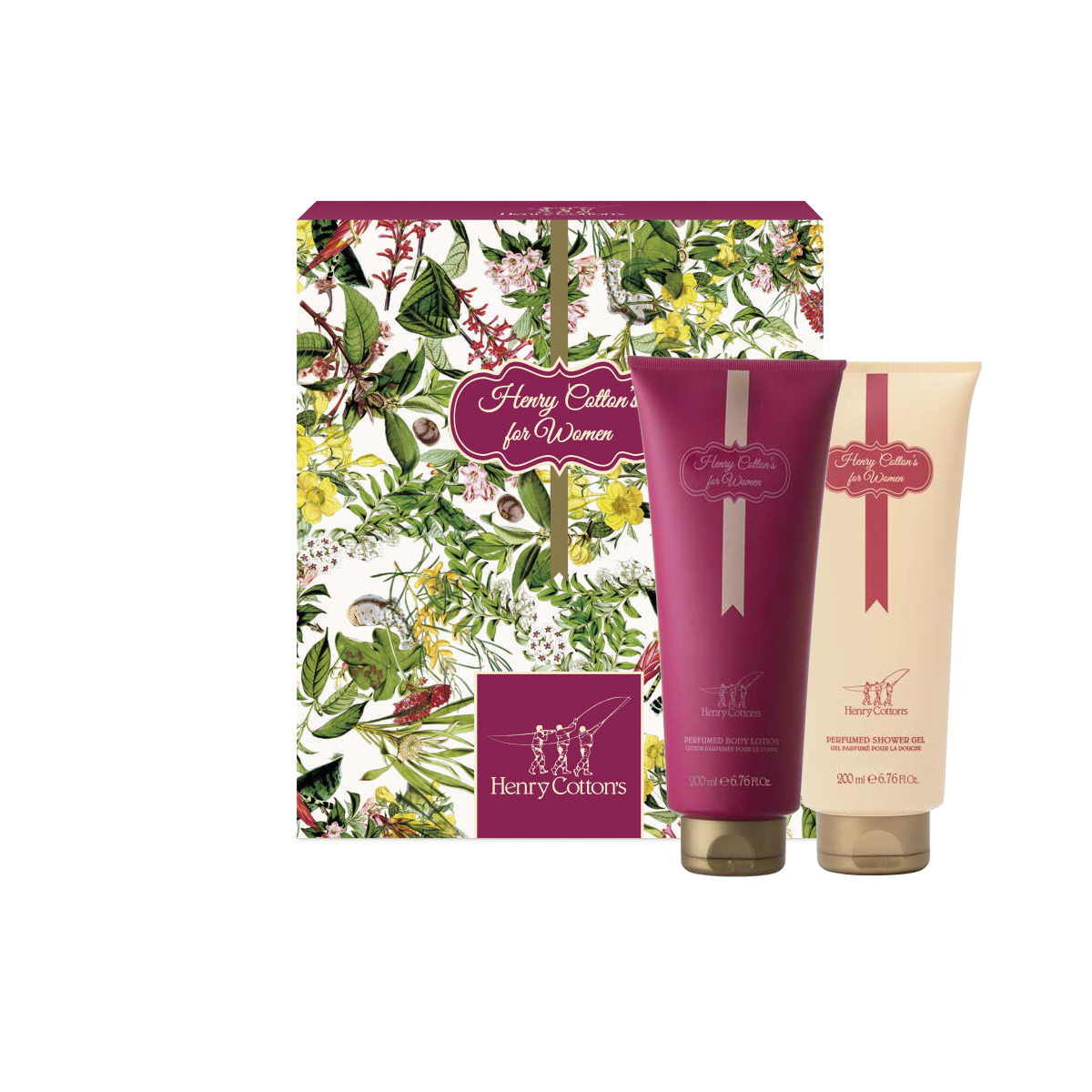 Gift set Henry Cotton's Woman: shower gel e body lotion donna