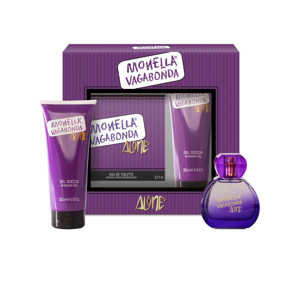 Gift set Monella Vagabonda Alone: shower gel e eau de toilette